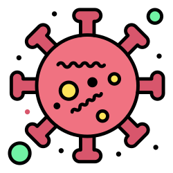 2, life, virus, microorganism, coronavirus icon icon