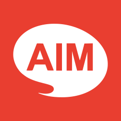 aim, target, communication, creative, marketing, talk, goal icon icon