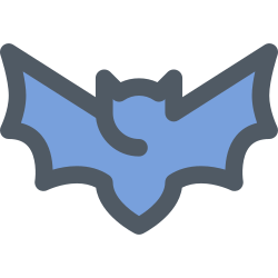 animal, virus, corona, bat icon icon