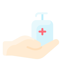 antiseptic, hygiene, hand, soap, clean icon icon