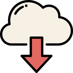 application, cloud, mobile, smartphone, download, ui, user interface icon icon