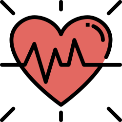 application, mobile, smartphone, ui, heart, user interface, health icon icon