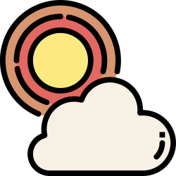 application, mobile, smartphone, ui, user interface, weather, forecast icon icon
