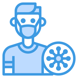 avatar, medical, people, coronavirus, mask icon icon