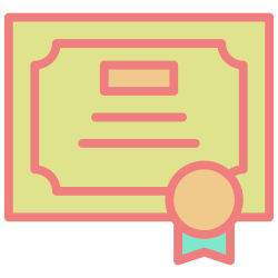 award, certificate, medal, winner, achievement, success, trophy icon icon