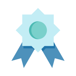 badge, quality, page, rank icon icon