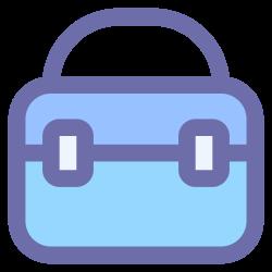 bag, education, school, student icon icon