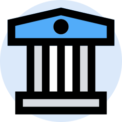 bank, office, finance, business, marketing, management icon icon