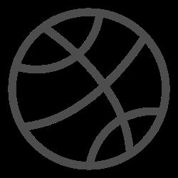basketball, team, equipment, game, ball, activity, sport icon icon