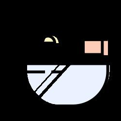bathroom, bathtub, towel, bath icon icon