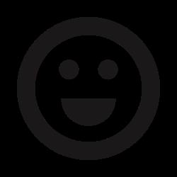 beaming, joy, big smile, thick lines, happy, emoticons, emojis icon icon