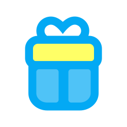 birthday, party, celebration, box, package, gift, present icon icon