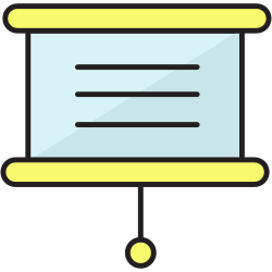 blackboard, school, black, board, plank icon icon