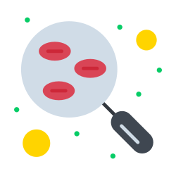 blood, test, research, sample, lab icon icon