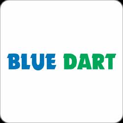 bluedart, logistics, india, shipping, courier, ecommerce icon icon