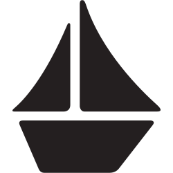 boats, ship, journey, transportation, rest icon icon