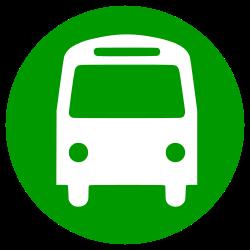bus, transportation icon icon