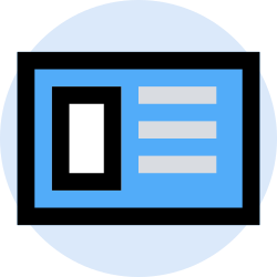 business, card, finance, office, marketing, management icon icon