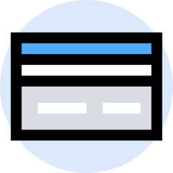 business, credit, office, finance, marketing, management icon icon