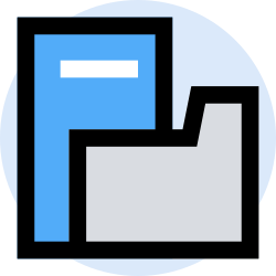 business, folder, office, finance, marketing, management icon icon