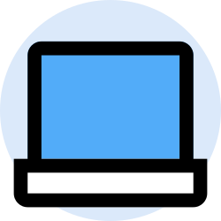 business, laptop, finance, office, marketing, management icon icon