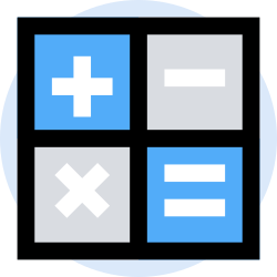business, office, finance, calculator, marketing, management icon icon