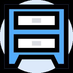 business, office, finance, storage, marketing, management icon icon