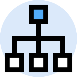 business, organization, office, finance, marketing, management icon icon