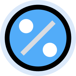 business, percentage, finance, office, marketing, management icon icon