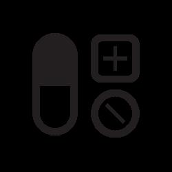 capsules, medical, disease, fitness, medicine, pills icon icon