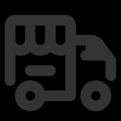 car, shop, wheels, store icon icon