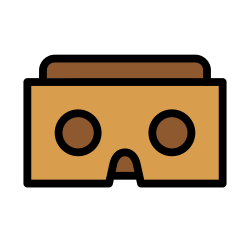 cardboard, google, contact, card, pack icon icon