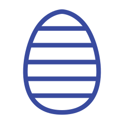 celebration day, spring, christianity, line, holiday, easter, egg icon icon