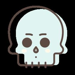 character, halloween, avatar, skull, skeleton icon icon
