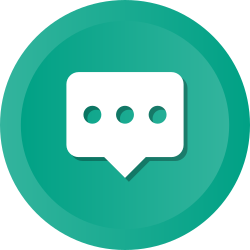 chatting, communication, conversation, inbox, chat, message, bubble icon icon