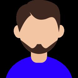 cheerful, boy, avatar, mark icon icon