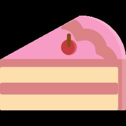 cheese, dessert, birdthday, piece, topping, strawberry, cake icon icon