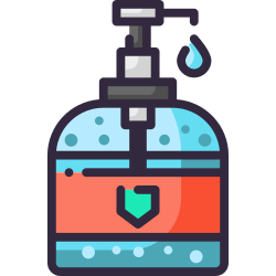 clean, cleaning, coronavirus, hygiene, alcohol, gel, soap icon icon