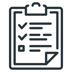 clipboard, check list, list icon icon