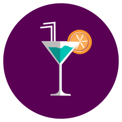 cocktail, drink, alcohol, beverage icon icon