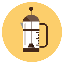 coffee, drink, espresso, machine, hot, cafe, maker icon icon