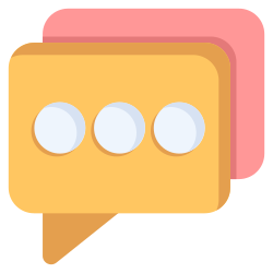 communication, balloon, chat, message, bubble icon icon