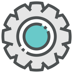configuration, preferences, repair, options, settings, gear, setting icon icon