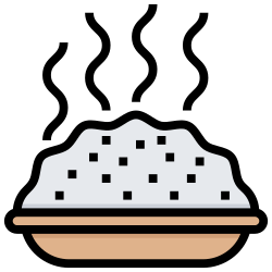 cook, dish, rice, food, menu icon icon