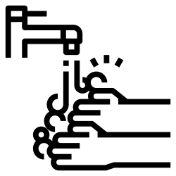 corona virus, corona, wash, coronavirus, hands, regularly icon icon