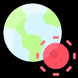 corona, virus, earth, coronavirus, disease, world icon icon