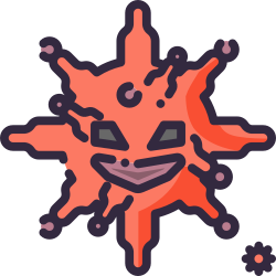 coronavirus, bacteria, covid-19, bacterium, biology, virus, avatar icon icon