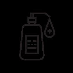 coronavirus, hand, sanitizer, covid icon icon