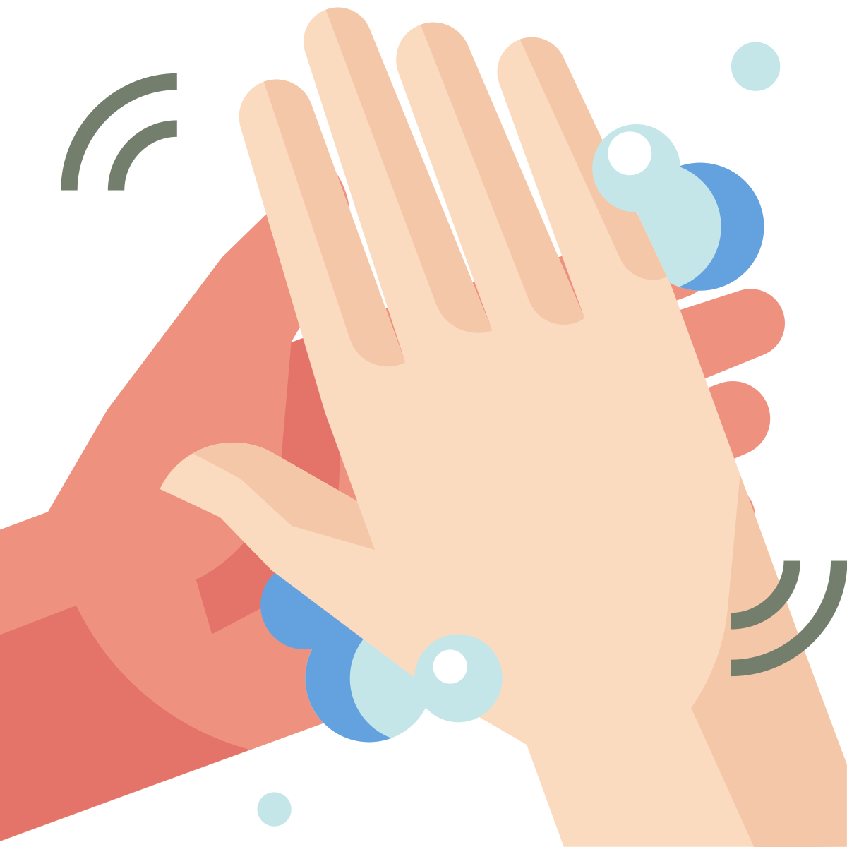 coronavirus  health  rub hands  sanitized  covid19  wash hands  hygiene icon icon