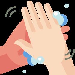 coronavirus, health, rub hands, sanitized, covid19, wash hands, hygiene icon icon